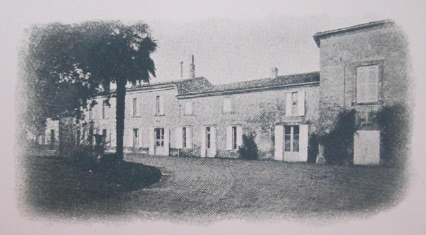 vieille photo du château de l'hurbe