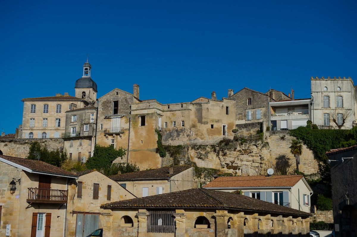 Ville de bourg sur gironde et centre historique