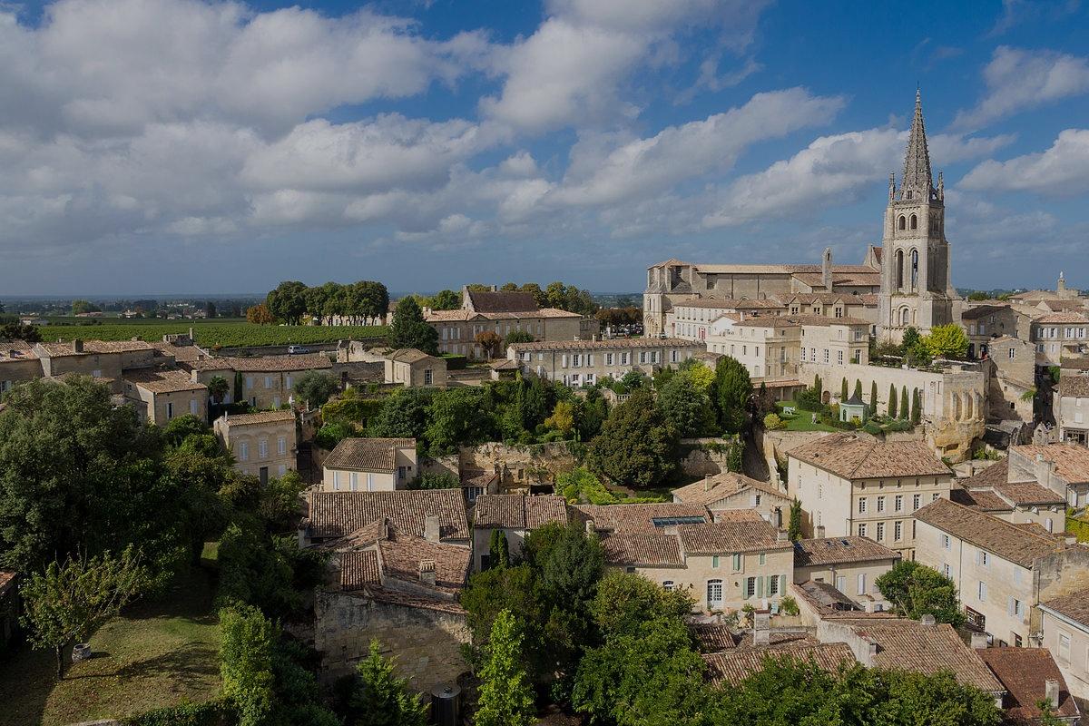 Ville de Saint Emilion - aquitaine - france